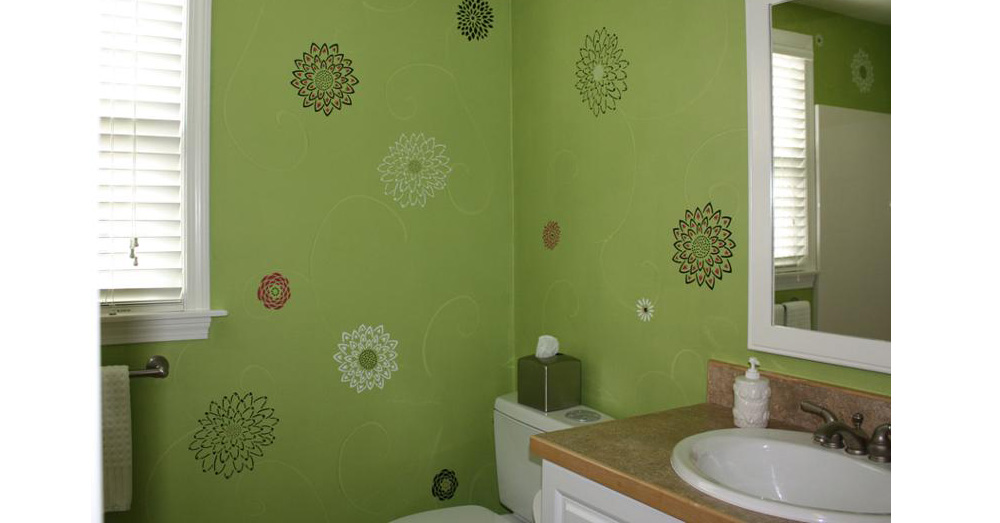 15 faux painting ideas for your walls ultimate home ideas for Best paint finish for bathroom