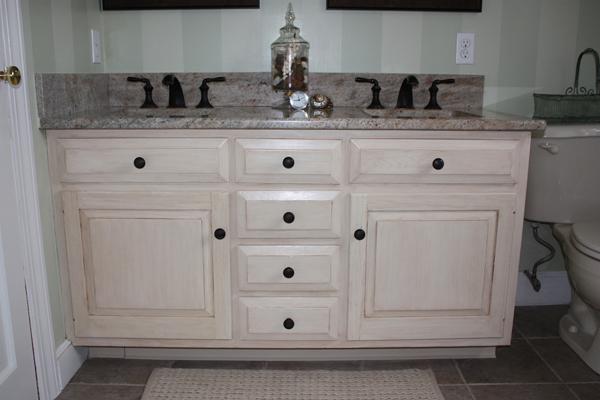 Distressed Bathroom Vanities antiqued distressed bathroom vanity