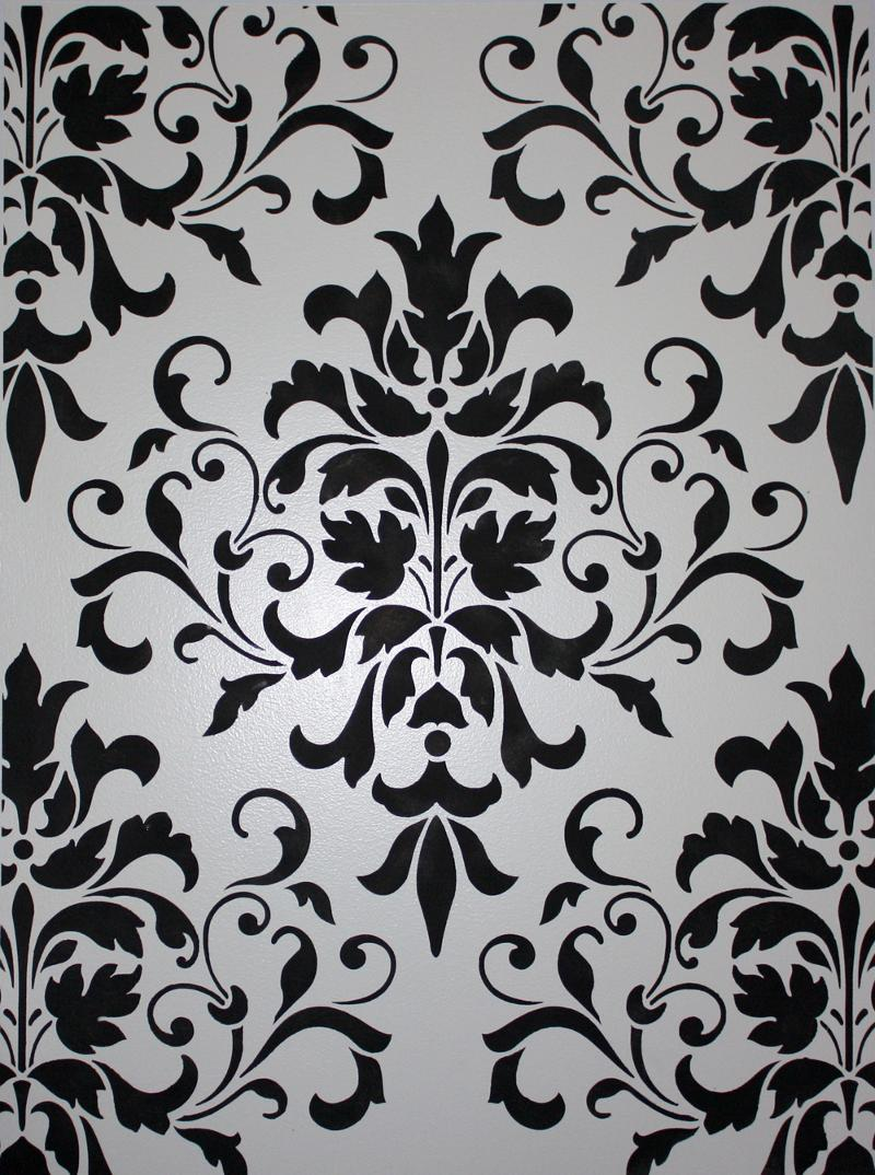About The Damask Pattern Classic Fauxs Finishes