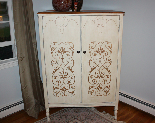 Painted Tv Armoire Classic Fauxs Amp Finishes