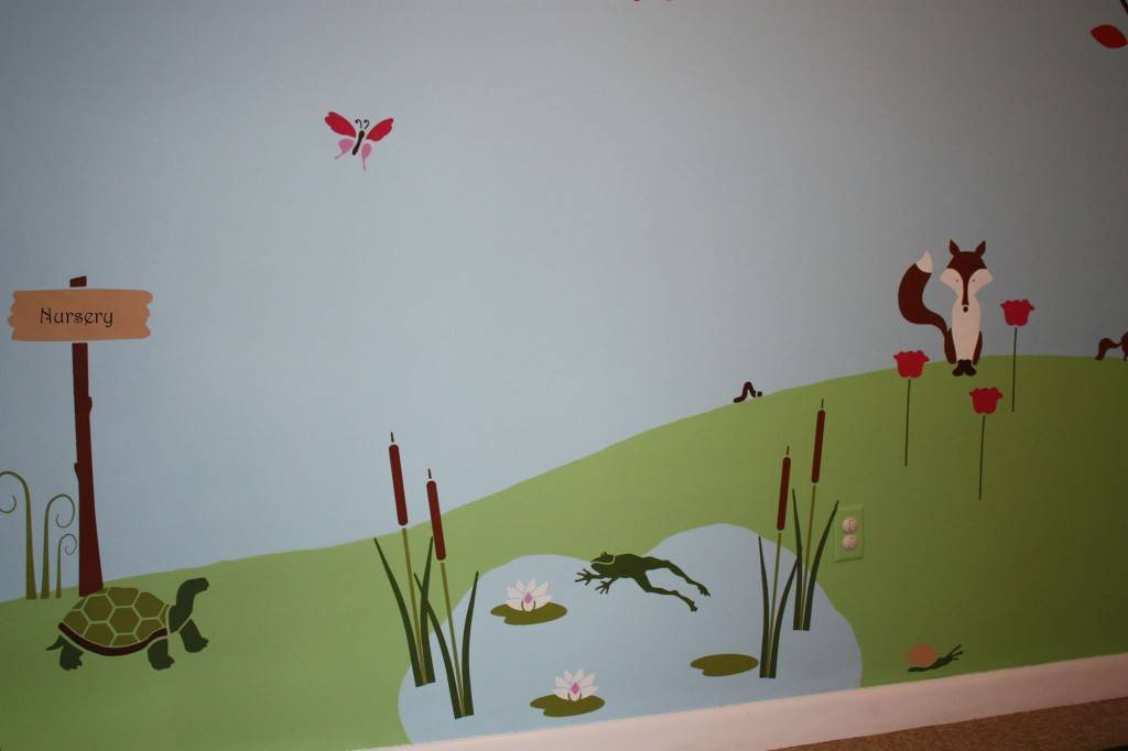Children S Wall Mural Classic Fauxs Amp Finishes