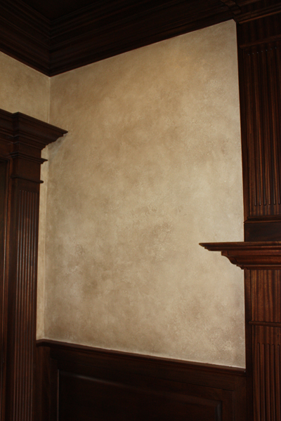 how to clean painted plaster walls