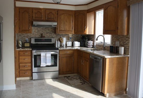 Oak Kitchen Cabinet Makeover Classic Fauxs Finishes