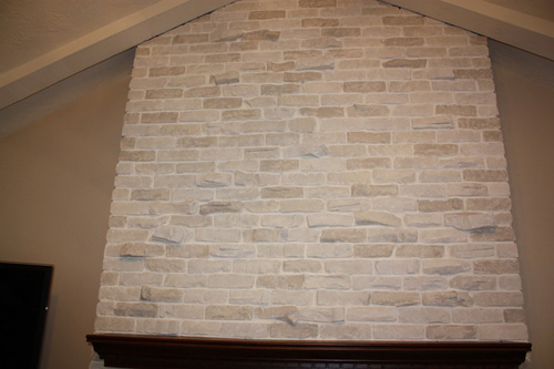 Brick Fireplace Makeover Classic Fauxs Amp Finishes